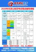2020年天津市考笔试辅导课程