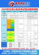 2020年天津市考笔试辅导课程02期